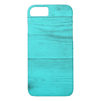 Petrol wood structure iPhone 7 case