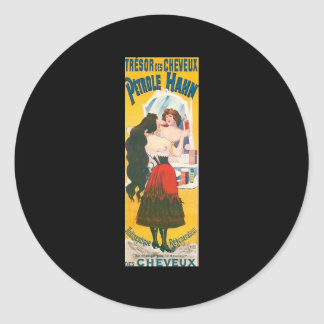 Petrole Hahn Classic Round Sticker