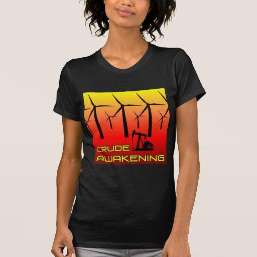 Petróleo bruto que despierta - oscuridad para camiseta