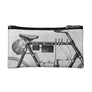 Petrolette Omega Motorcycle, 1895 Cosmetic Bag