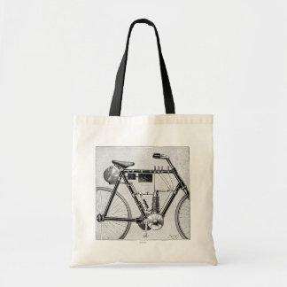 Petrolette Omega Motorcycle, 1895 Tote Bag