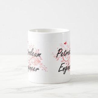 Petroleum Engineer Artistic Job Design with Butter Coffee Mug