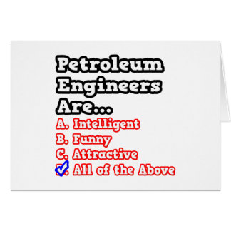 Petroleum Engineer Quiz...Joke Cards