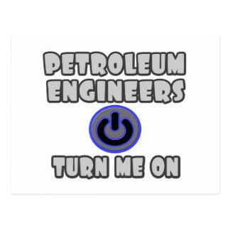 Petroleum Engineers Turn Me On Post Cards