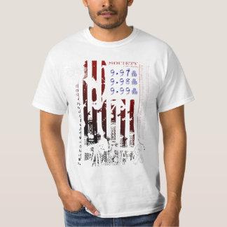 Petroleum Pantry Oil  Flag Shirt Red White Blue