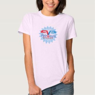 Petroleum Pantry Pink Ladies Baby Doll T-shirt