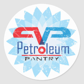 Petroleum Pantry Sticker