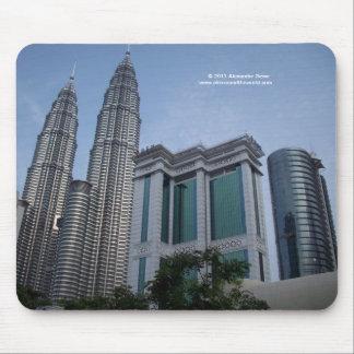 Petrona twin towers Malaysia mousepad