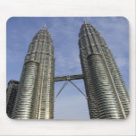petronas towers kl mousepad