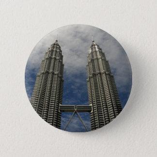 Petronas Towers Kuala Lumpur Malaysia Pinback Button