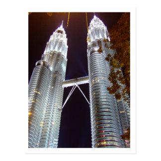 Petronas Twin Tower, KLCC Post Card