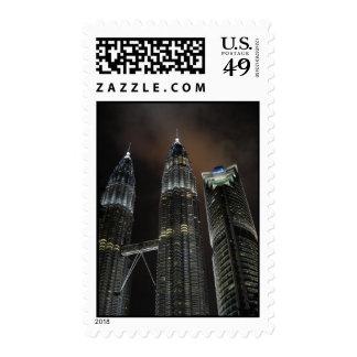 Petronas Twin Towers Stamp