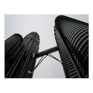 Petronas Twin Towers Postcard