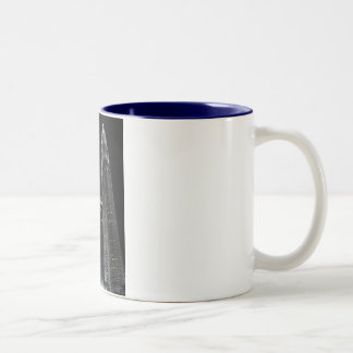 Petronas Twin Towers Two-Tone Coffee Mug
