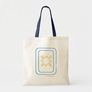 Petronella Bag in Blue and Gold