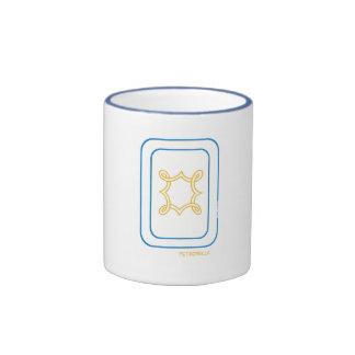 Petronella Mug in Blue & Gold