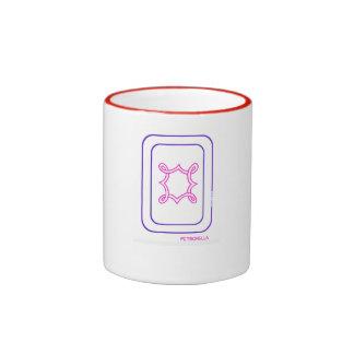 Petronella Mug in Purple & Magenta