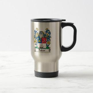 Petrov Family Crest 15 Oz Stainless Steel Travel Mug