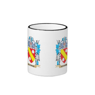 Petrovic Coat of Arms - Family Crest Ringer Coffee Mug