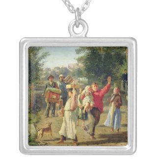 Petrushka está viniendo, 1888 colgante cuadrado