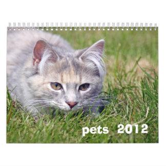 pets 2012 calender wall calendar