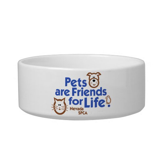 Pets are Friends for Life Pet Bowl