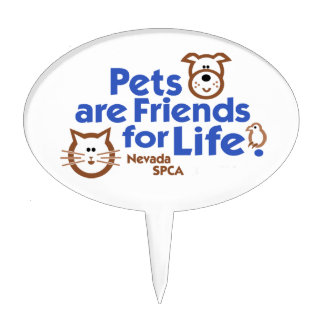 Pets are Friends for Life Products Cake Pick