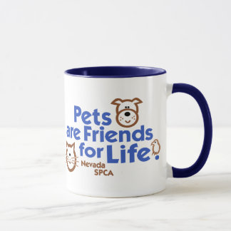 Pets are Friends for Life Products Mug