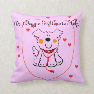 PETS ARE GREAT MEDICINE PILLOW DR DOGGY