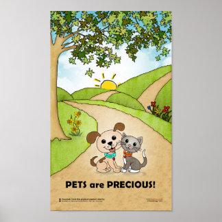 Pets are Precious ... (BowWow & MeeYow) Poster