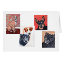 Pets card by Mary Dunham Walters