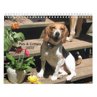 Pets & Critters Calendar 2012