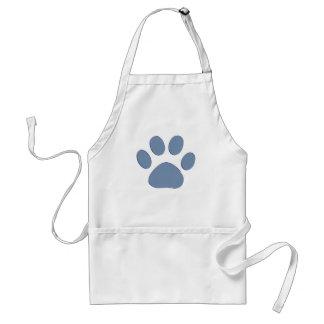 pets dog cat pawprints adult apron