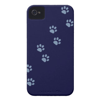 pets dog cat pawprints iPhone 4 case