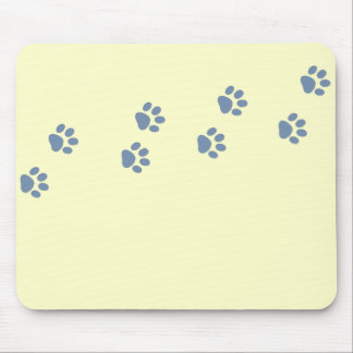 pets dog cat pawprints mouse pad