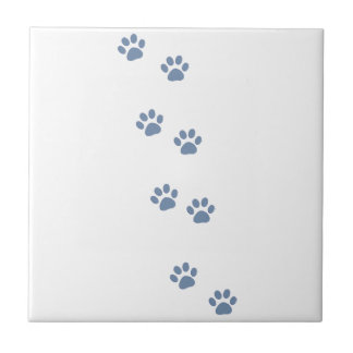 pets dog cat pawprints tile