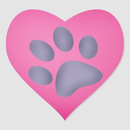 Pink Cat Paw Print Images & Pictures - Becuo