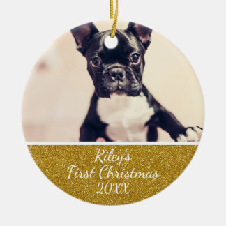 Pet's First Christmas Ornament