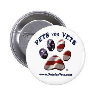 Pets for Vets Button