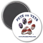 Pets for Vets Magnet