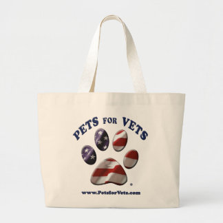 Pets for Vets Tote Jumbo Tote Bag
