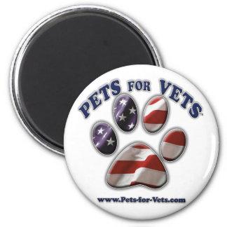 Pets for Vets www.pets-for-vets.com Fridge Magnets