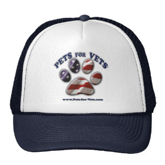 Pets for Vets www.pets-for-vets.com Trucker Hat