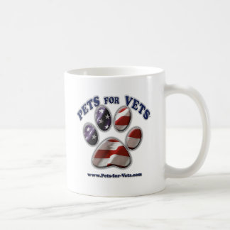 Pets for Vets www.pets-for-vets.com Classic White Coffee Mug