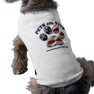Pets for Vets www.pets-for-vets.com Pet Tee