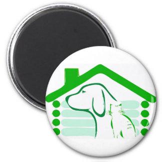 PETS HOUSE MAGNET