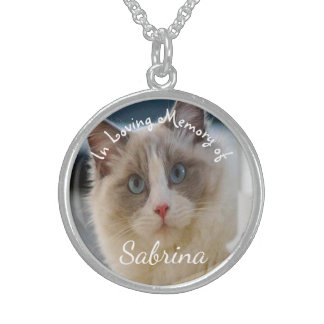 Pets In Loving Memory of Sterling Silver Necklace