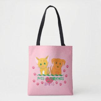 Pets Leave Pawprints Tote Bag