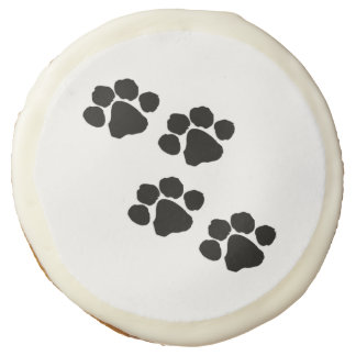 Pets Paw Prints For Animal Lovers Sugar Cookie