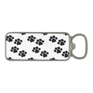 Pets Paw Prints Magnetic Bottle Opener